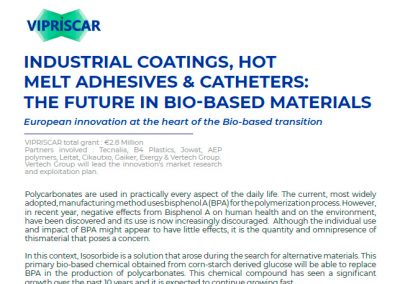Market analysis of VIPRISCAR shows the potential and trends of IBMC derived products