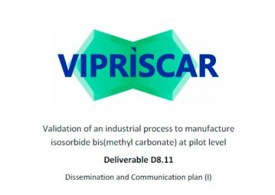 D8.11 Dissemination and Communication Plan (I)